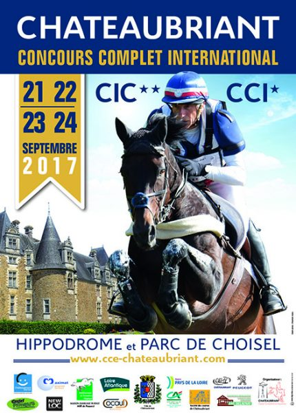 CASTEL COMPETITIONS EQUESTRES CCE OK Affiche 100x140 2017001717